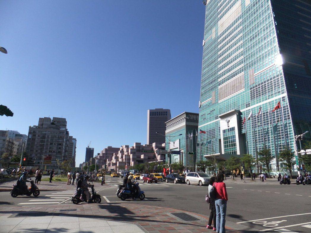 台北101對面停車本周以112.5億元脫標   記者游智文/攝影