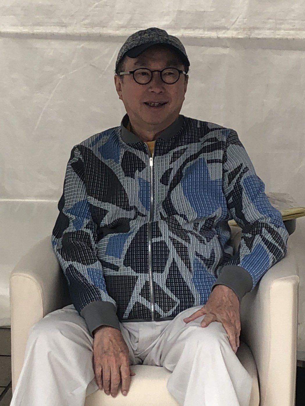 廣達董事長林百里。 記者吳凱中/攝影