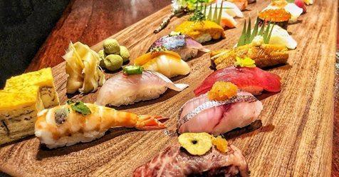 三燔本家推出史上唯一一場的壽司放題活動。圖/晶華酒店提供