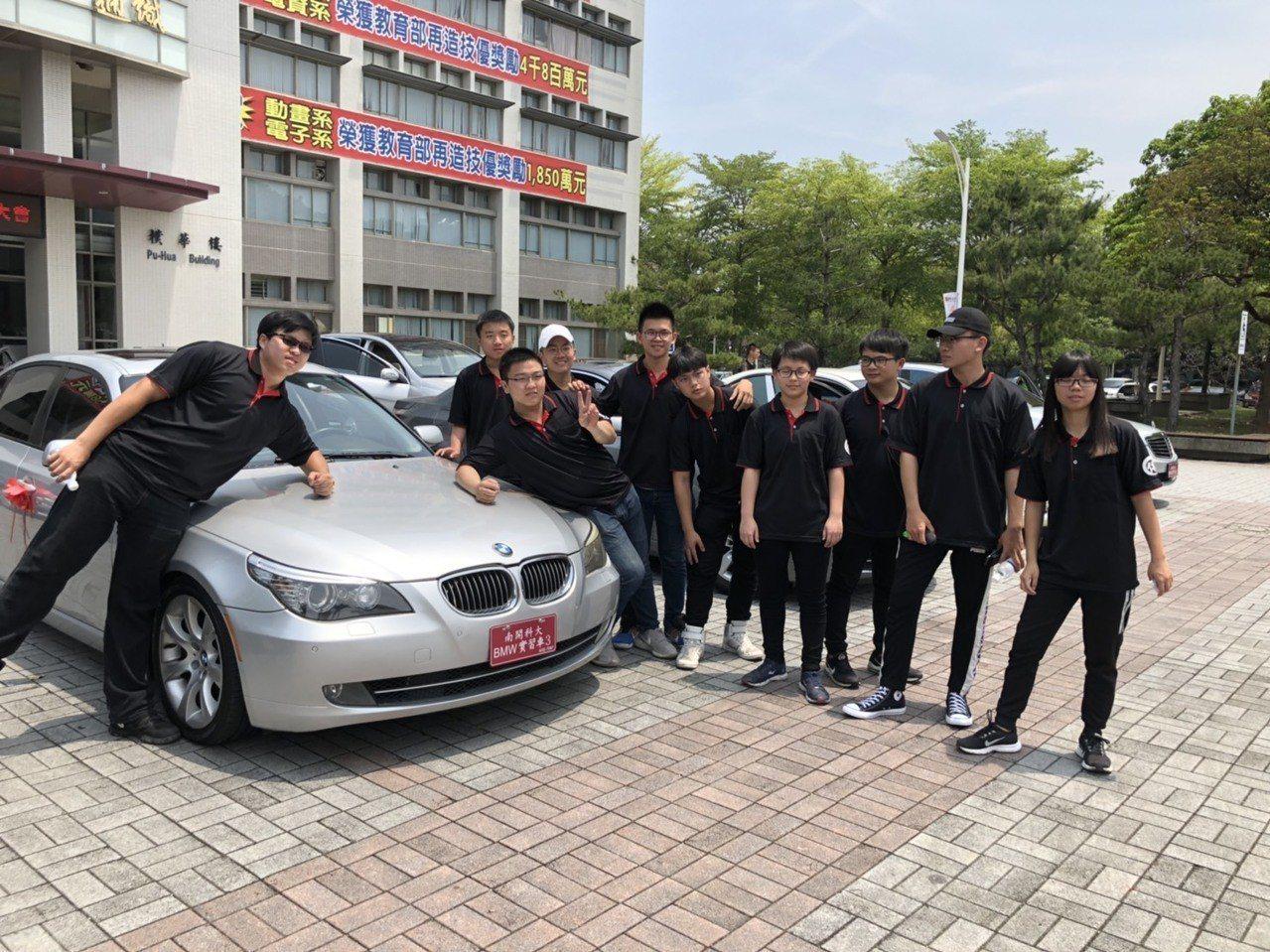 南開科大今天啟用國內首座「先進車輛機電整合技術中心」,購買10輛賓士、BMW名車...