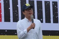 影/韓國瑜申請賣菜郎CEO商標 陳其邁:要捐應該更乾脆點