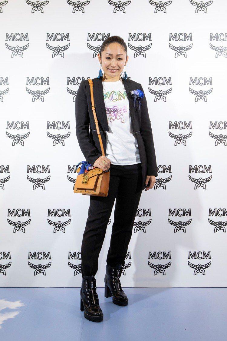 世界花滑錦標賽冠軍安藤美姬Miki Ando也是開幕嘉賓。圖/MCM提供