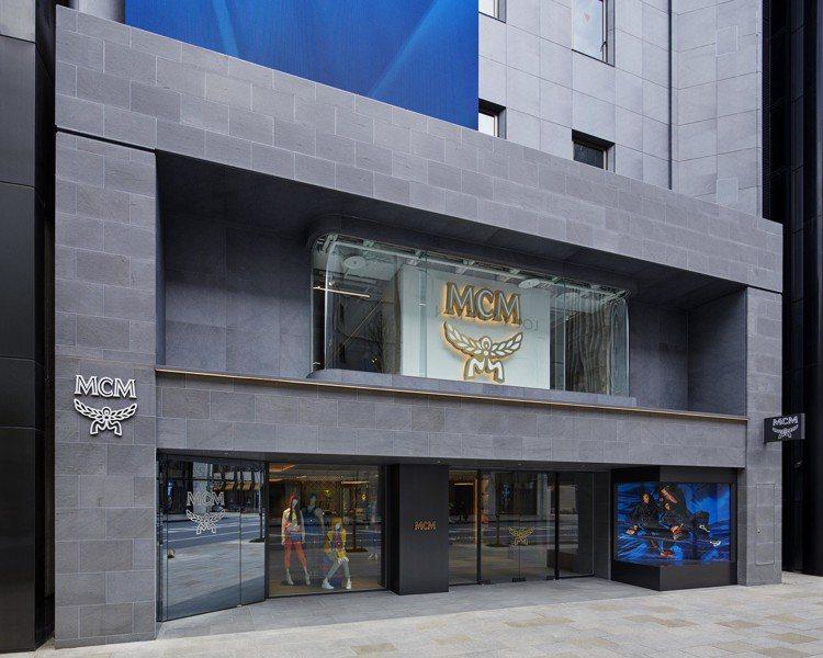 MCM於日本東京開設Ginza HAUS 1全球最大旗艦店。圖/MCM提供