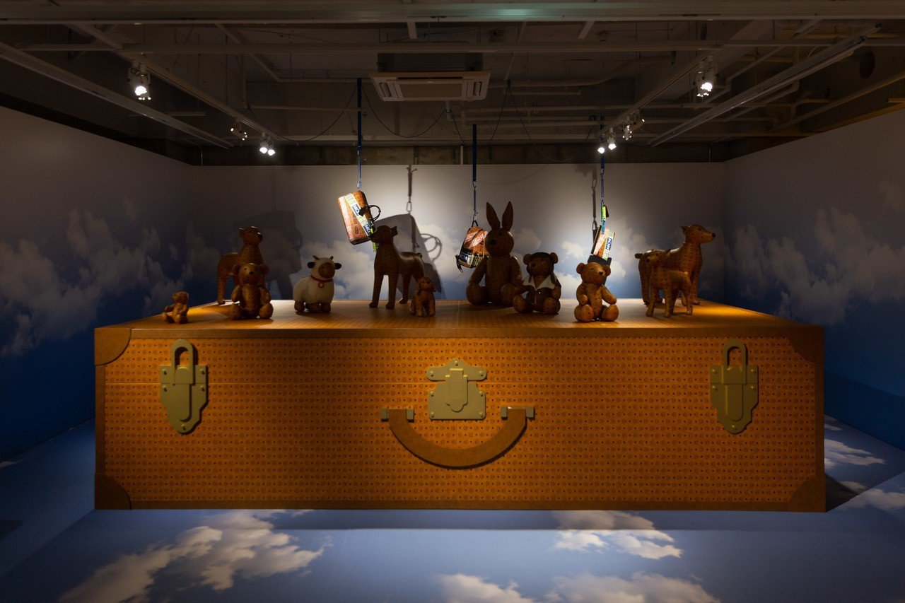 MCM於日本東京開設Ginza HAUS 1全球最大旗艦店並舉辦開幕派對。圖/M...