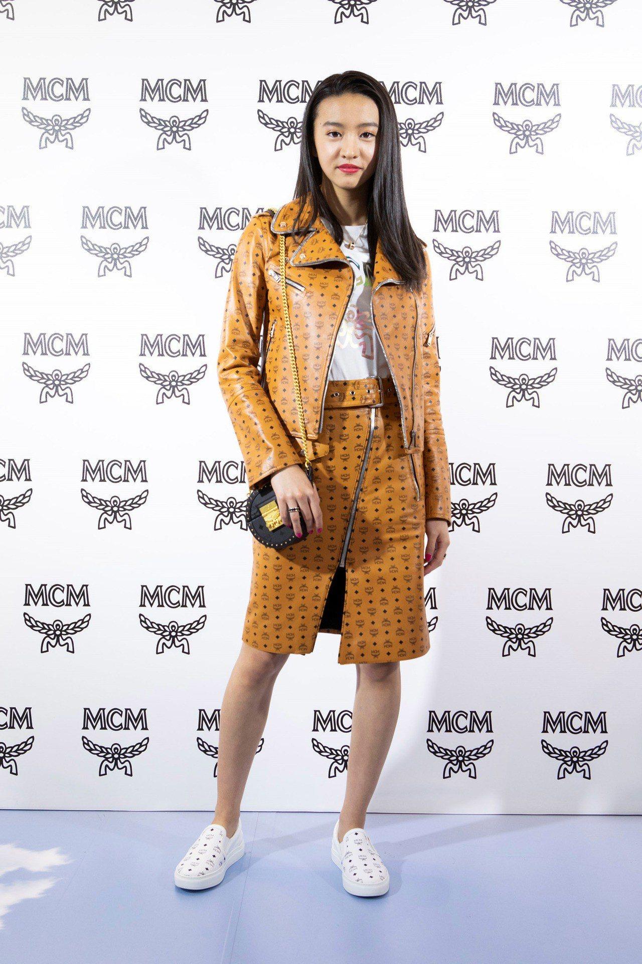 木村光希Kōki是旗艦店開幕最閃耀的明星。圖/MCM提供