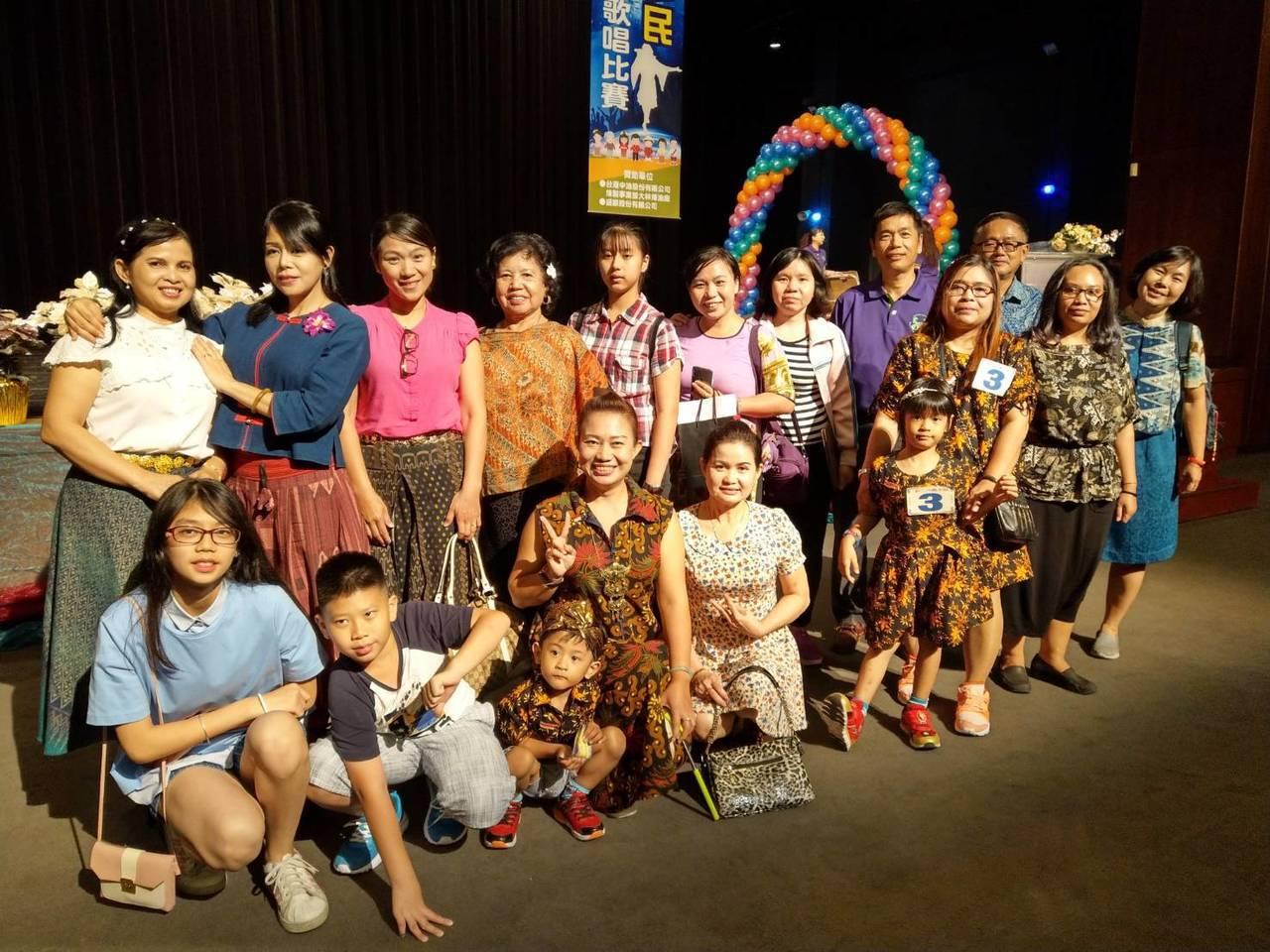 「異國風華.台灣加油-2019新住民歌唱比賽」在高雄社教館舉行。記者徐如宜/攝影