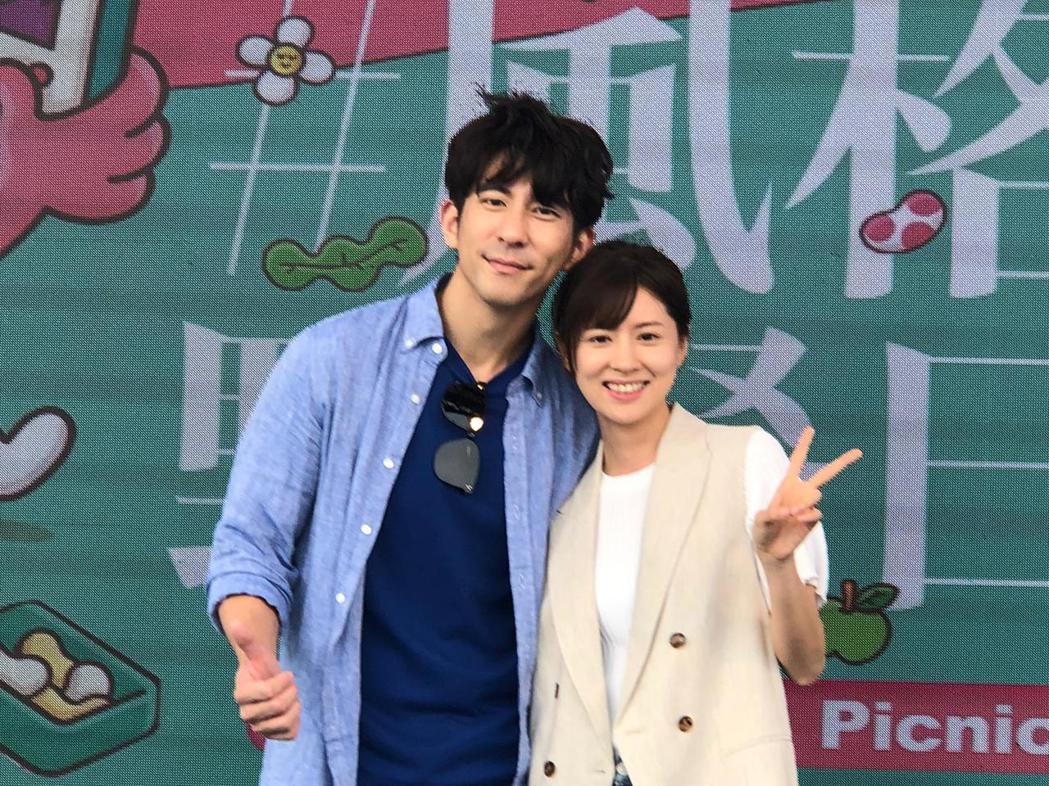 修杰楷、林予晞出席風格野餐日。圖/TVBS提供