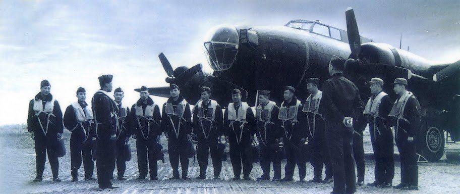 黑蝙蝠中隊的B-17,後來因為加入電子偵察任務,因此機員數量比1954年聶經淵殉...