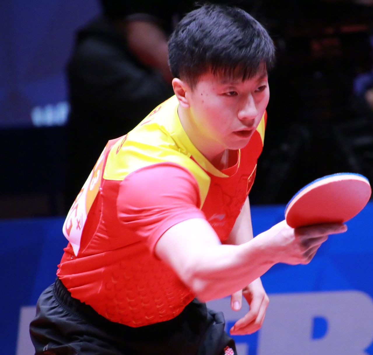 馬龍除了乒乓球厲害,英文也是一霸。 圖/取自微博