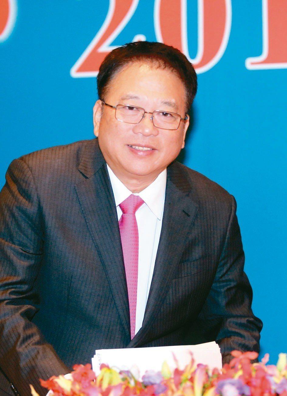 宸鴻董事長江朝瑞。 圖╱本報資料照片