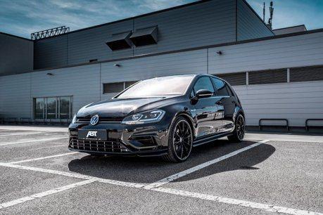 覺得VW Golf R的300匹馬力不夠用?ABT再給你50匹!