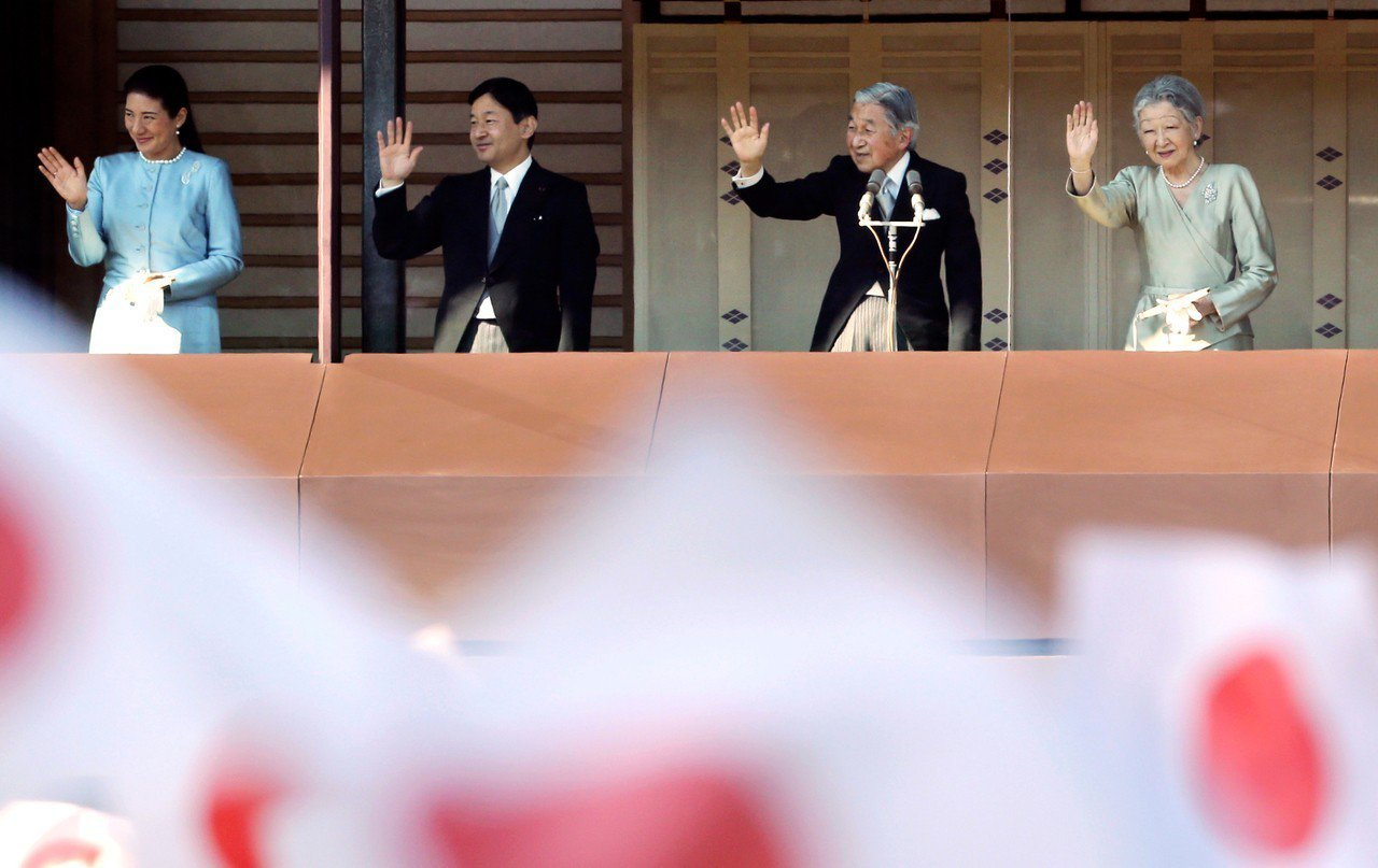 日本將在5月1日走入「令和」時代,日本政府為改朝所編列經費高達166億日圓。 圖...