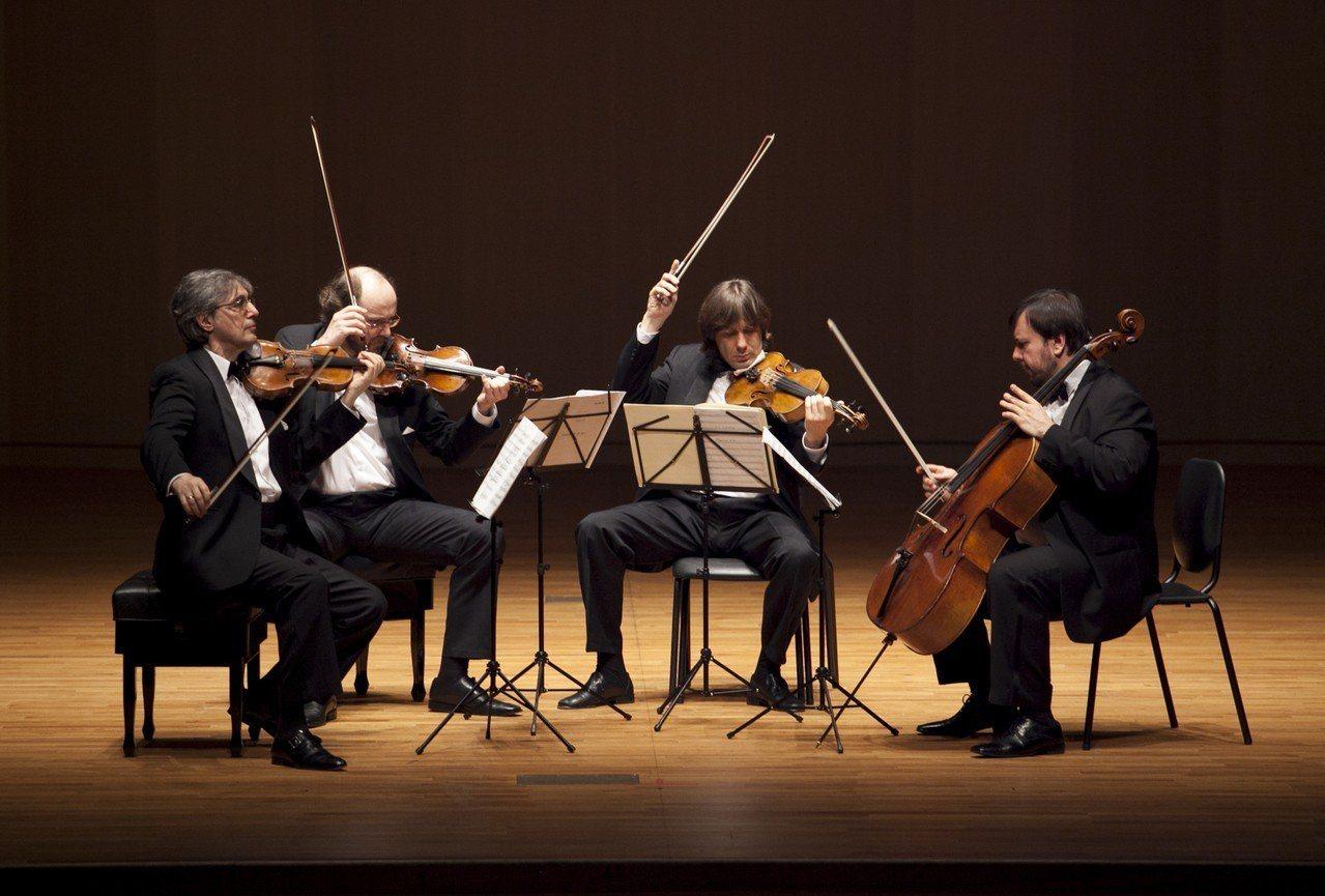Borodin弦樂四重奏。圖/誠品室內樂節提供