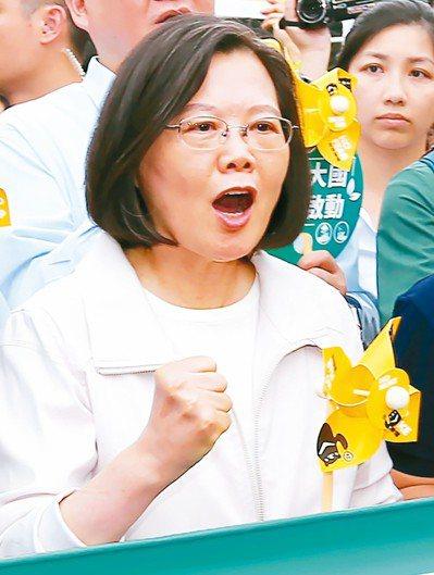 2019廢核遊行昨在台北、高雄登場,蔡英文總統出席。記者王騰毅/攝影