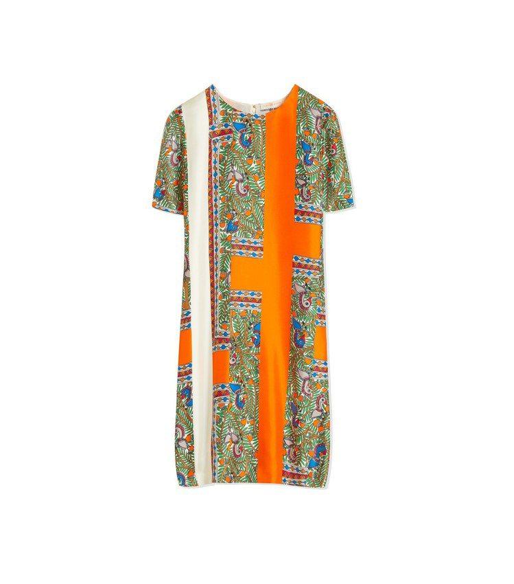 異國風印花洋裝,18,900元。圖/Tory Burch提供