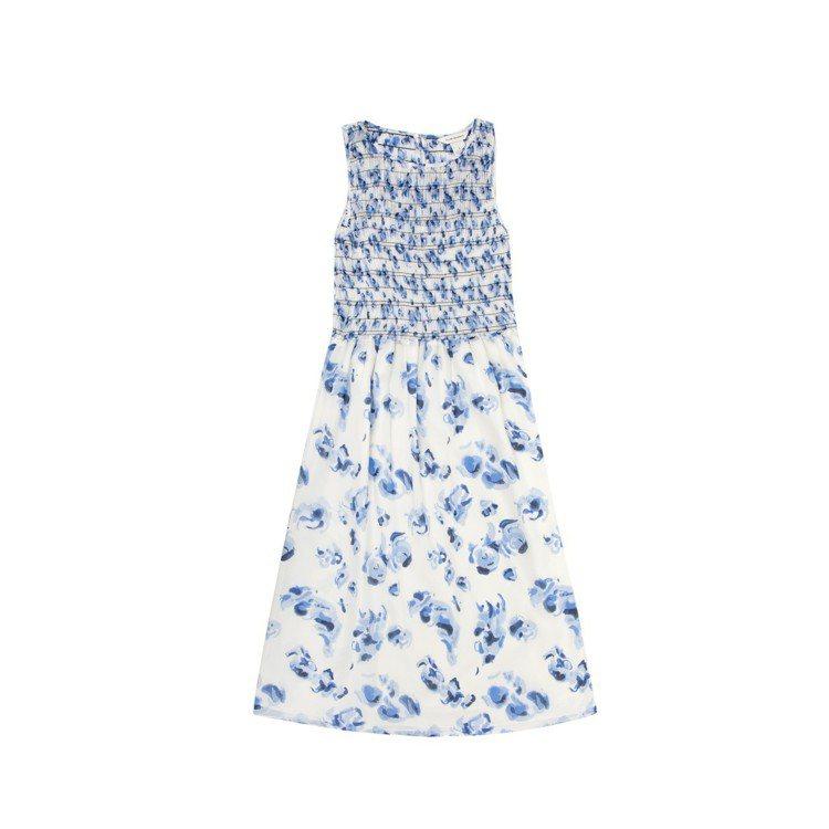 仙人掌花卉圖騰洋裝,11,900元。圖/Club Monaco提供