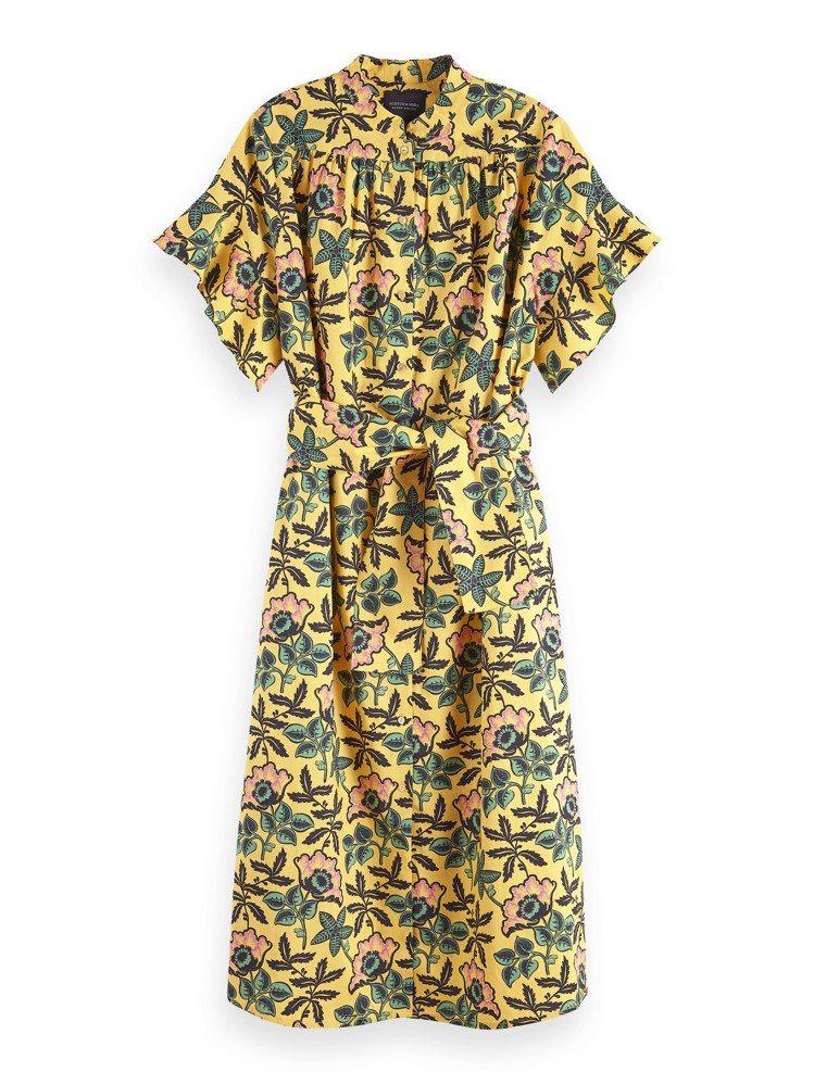 Scotch&Soda襯衫式洋裝,8,390元。圖/Scotch&Soda提供
