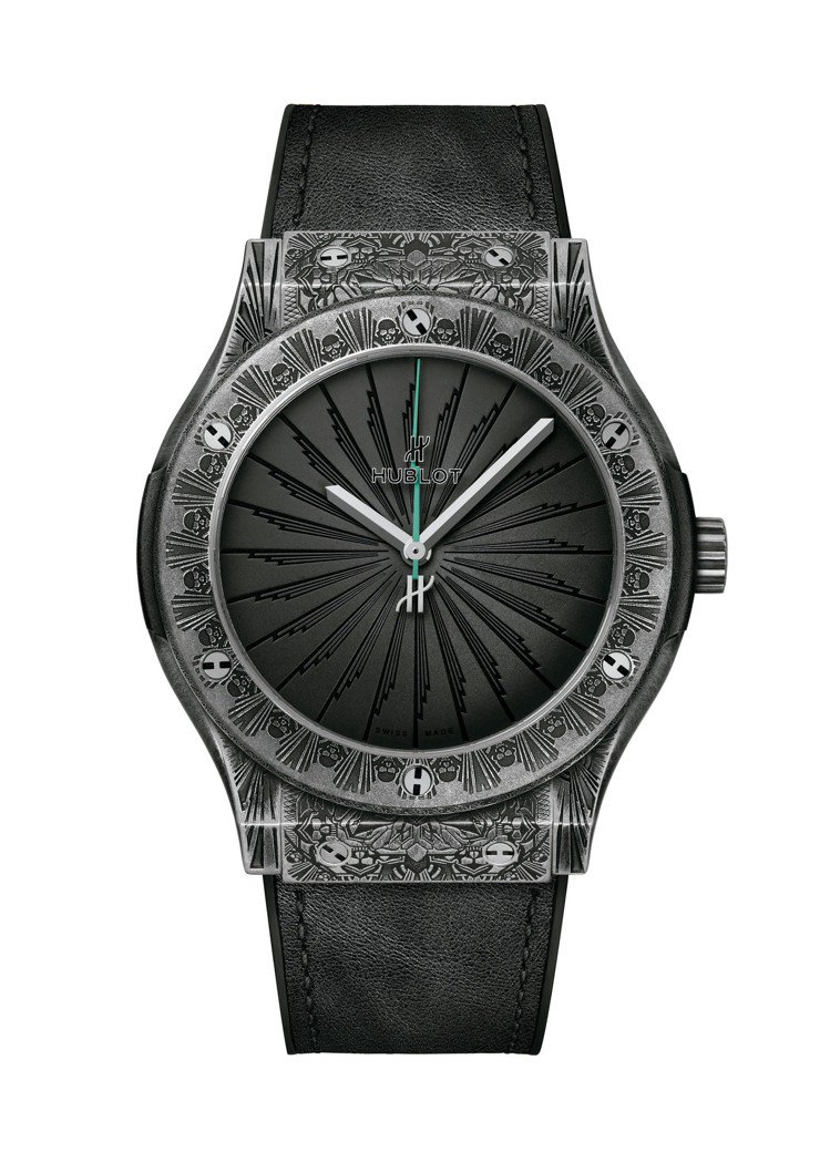 宇舶經典融合系列Wild Customs腕表,鑄刻仿舊鈦金屬表殼,限量100只,...