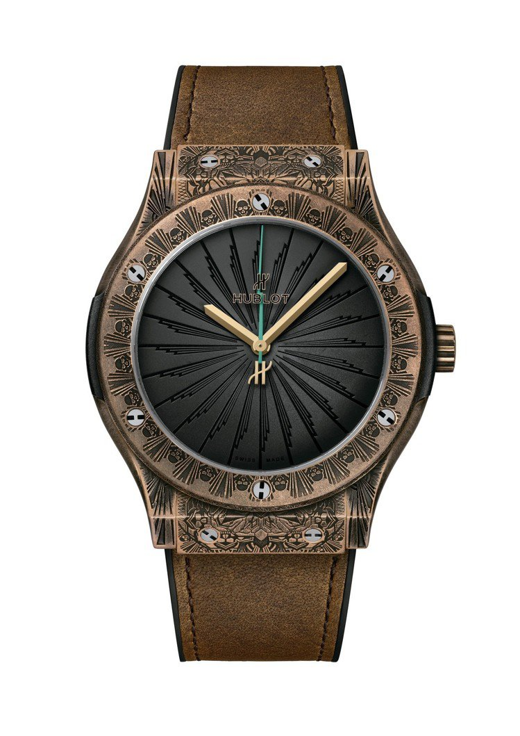 宇舶經典融合系列Wild Customs腕表,鑄刻仿舊青銅表殼,限量100只,約...