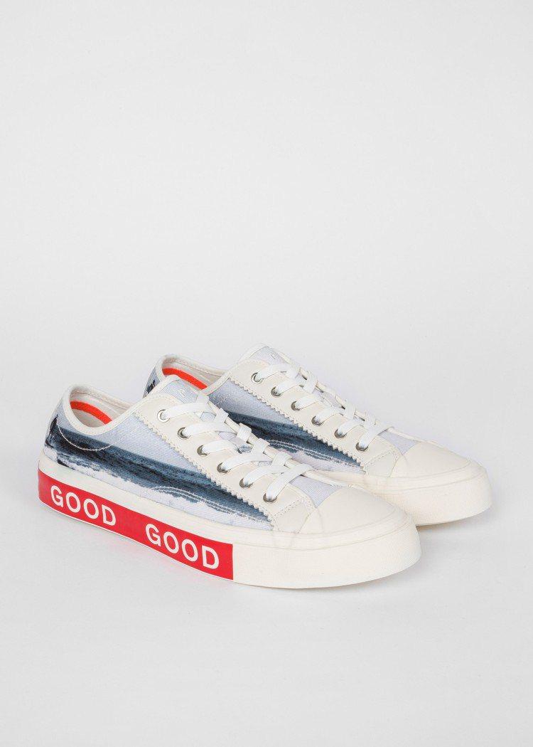 GOOD照片印花帆布鞋,9,500元。圖/PS Paul Smith提供