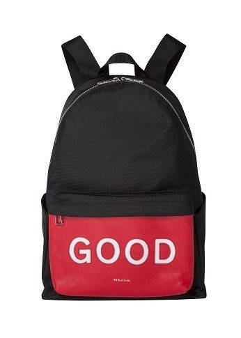 GOOD黑色後背包,15,300元。圖/PS Paul Smith提供