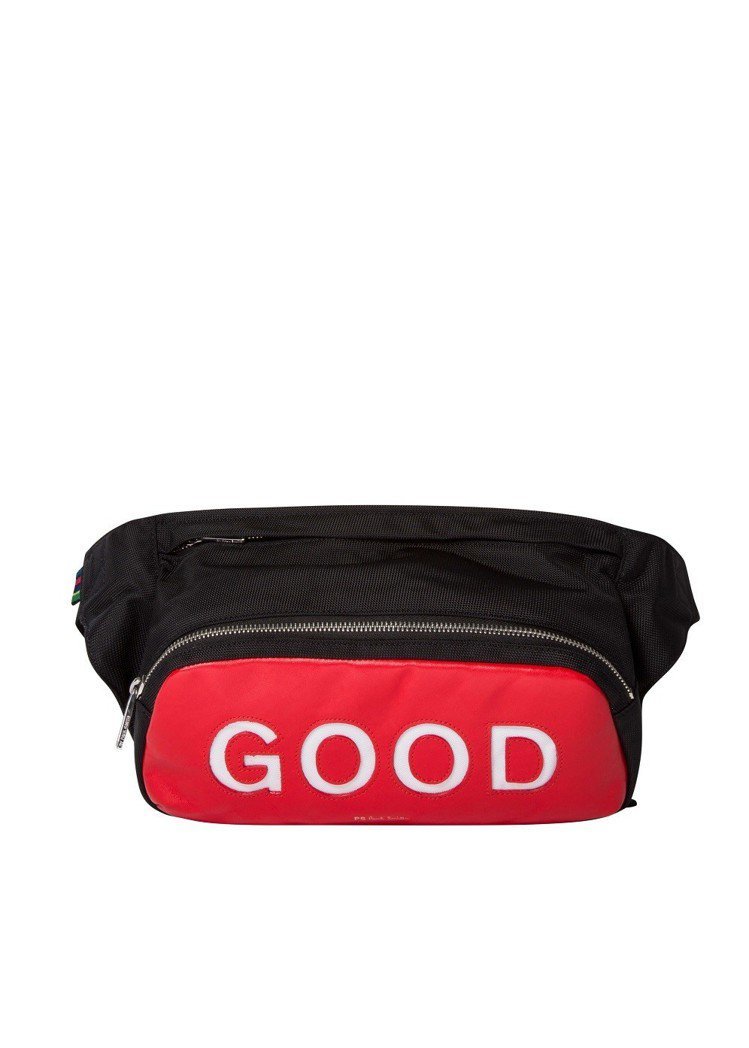 GOOD黑色腰包,10,800元。圖/PS Paul Smith提供