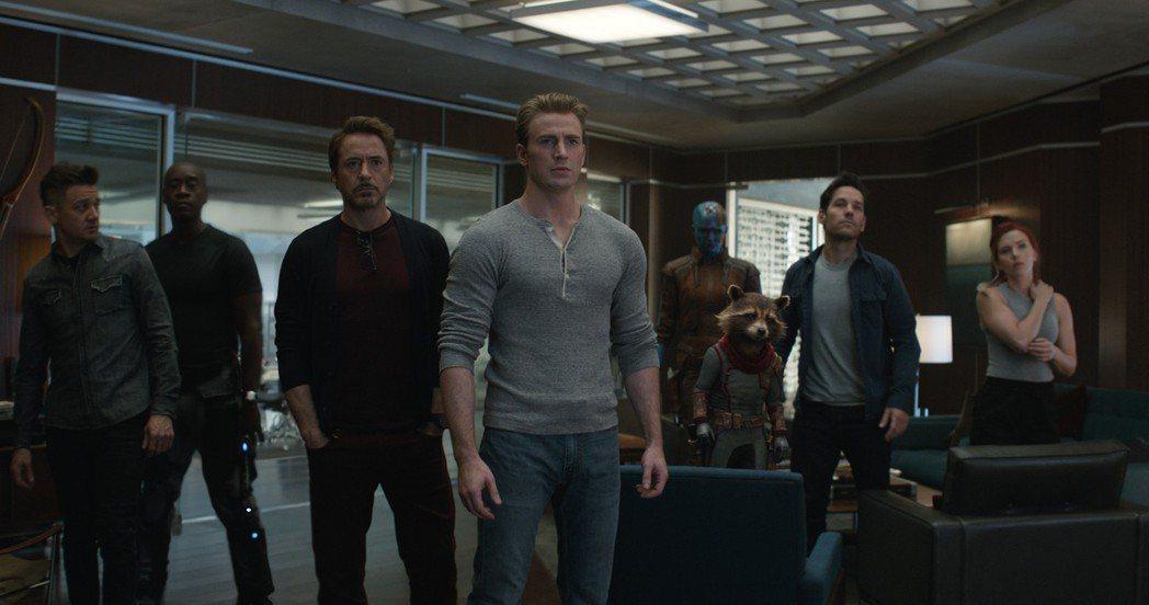 「復仇者聯盟:終局之戰」是今年最受注目的娛樂大片。圖/迪士尼提供