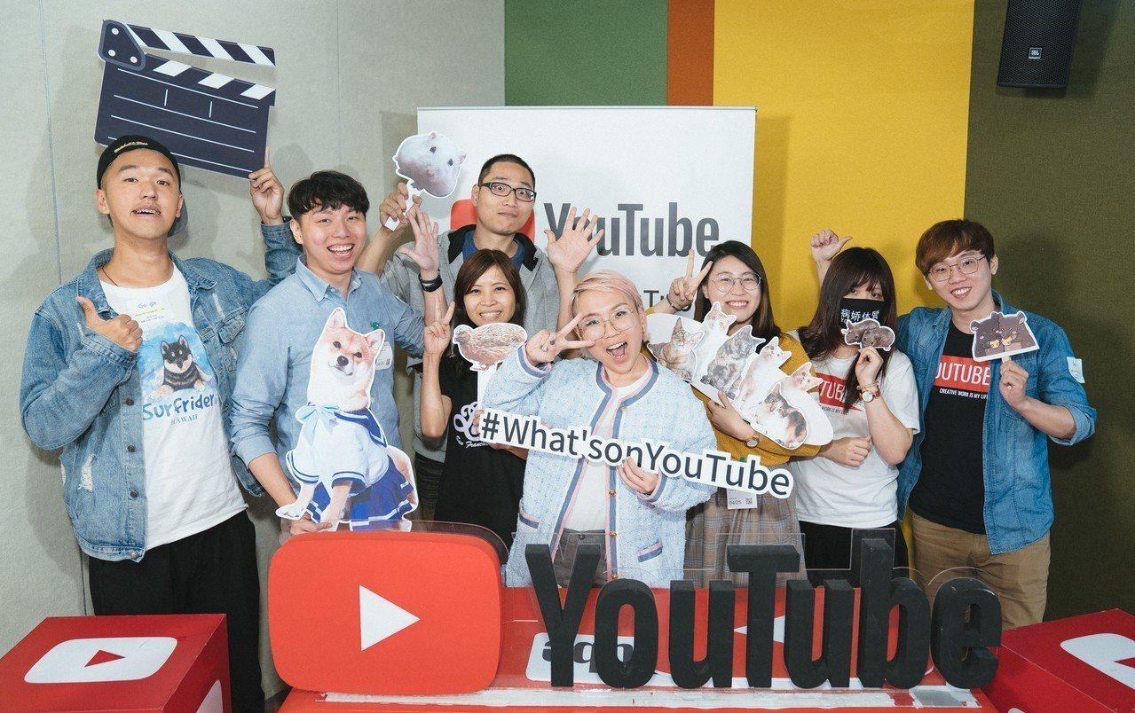 YouTube亞太區公關經理Tu Nguyen與多位創作者分享YouTube寵物...