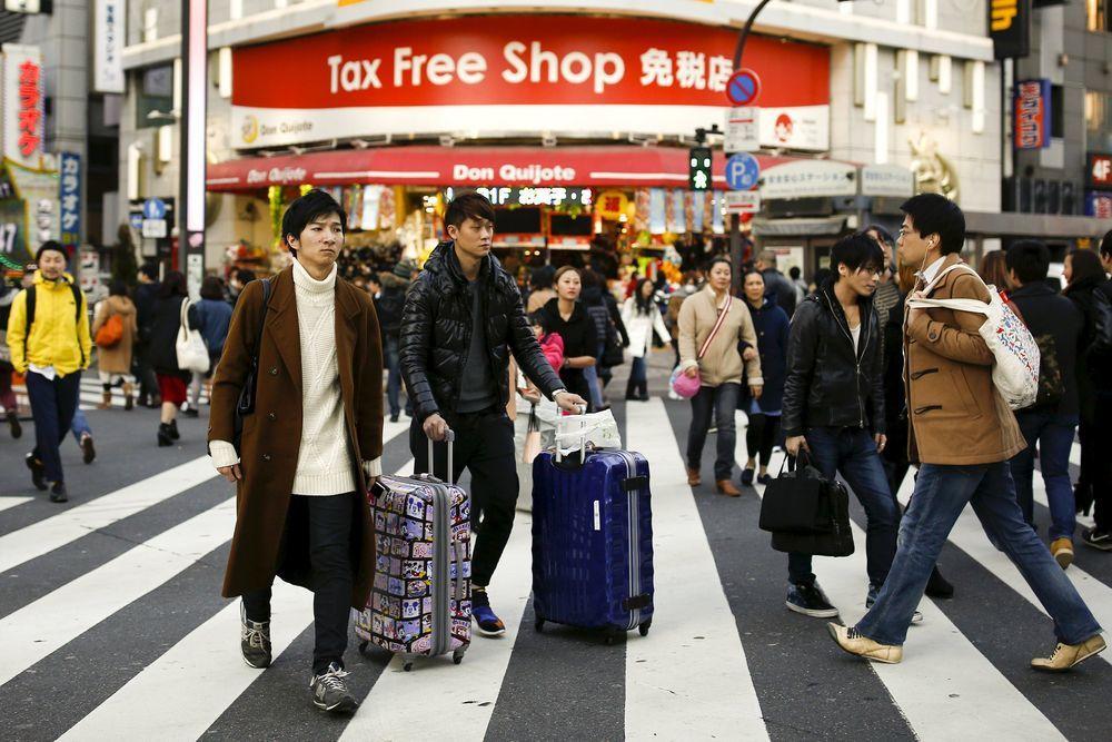 近年赴日旅遊外國遊客數量不斷增加。(路透)