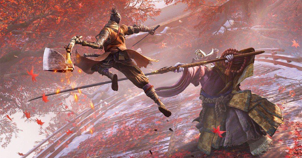 破戒僧可說是隻狼遊戲中相當代表性的敵人,巨大的身軀搭配長薙刀,非常有威壓感。