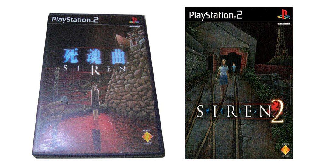 PS2時期所推出的《死魂曲》1代與2代封面。這款恐怖遊戲當年頗受好評,在PS3上...
