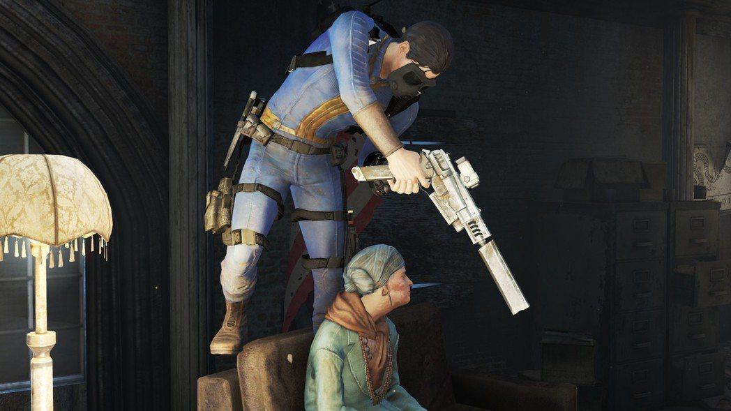 例如《異塵餘生4》,玩家往往是最不像正常人的角色