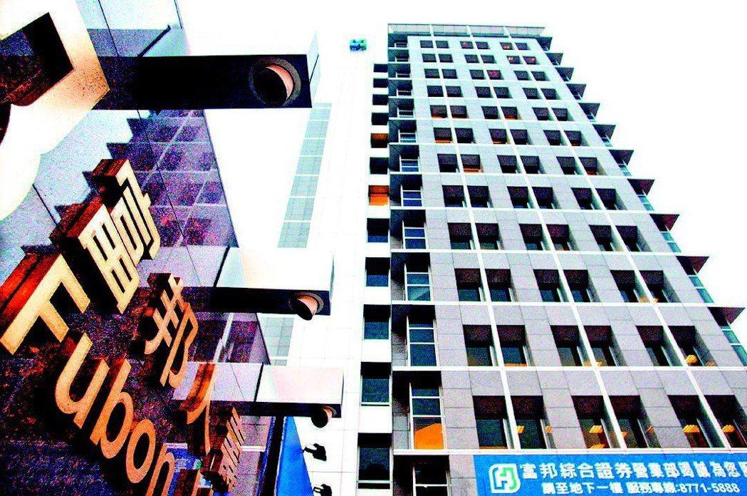 位於敦化南路與市民大道口的富邦人壽大樓。圖/聯合報系資料照片