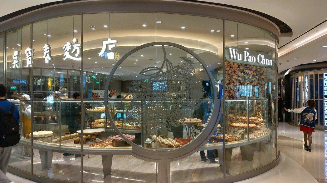 吴寶春上海第二家店今天上午開幕。特派記者林宸誼/攝影