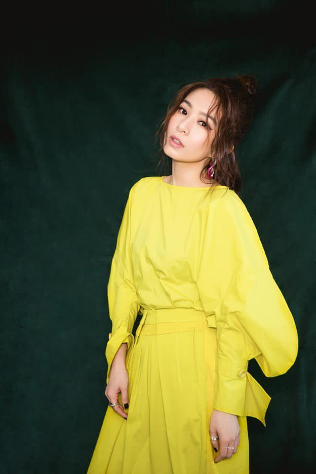 田馥甄去年砸300萬開設「樂來樂好有限公司」。圖/摘自臉書