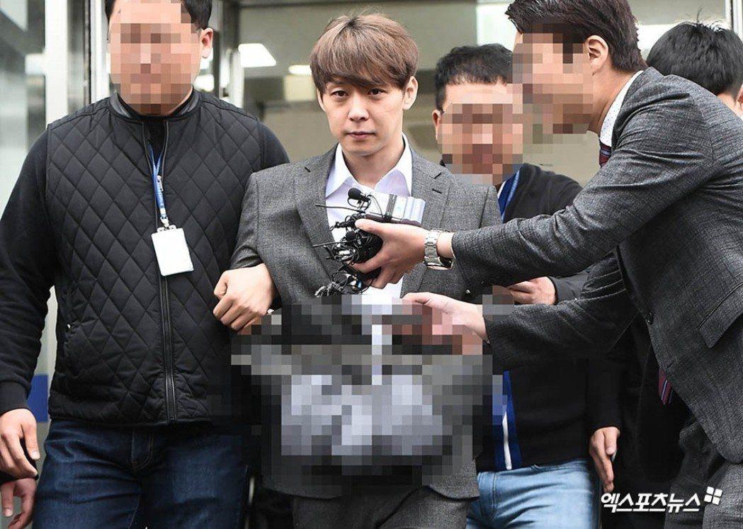 朴有天今天認罪。圖/摘自xportsnews