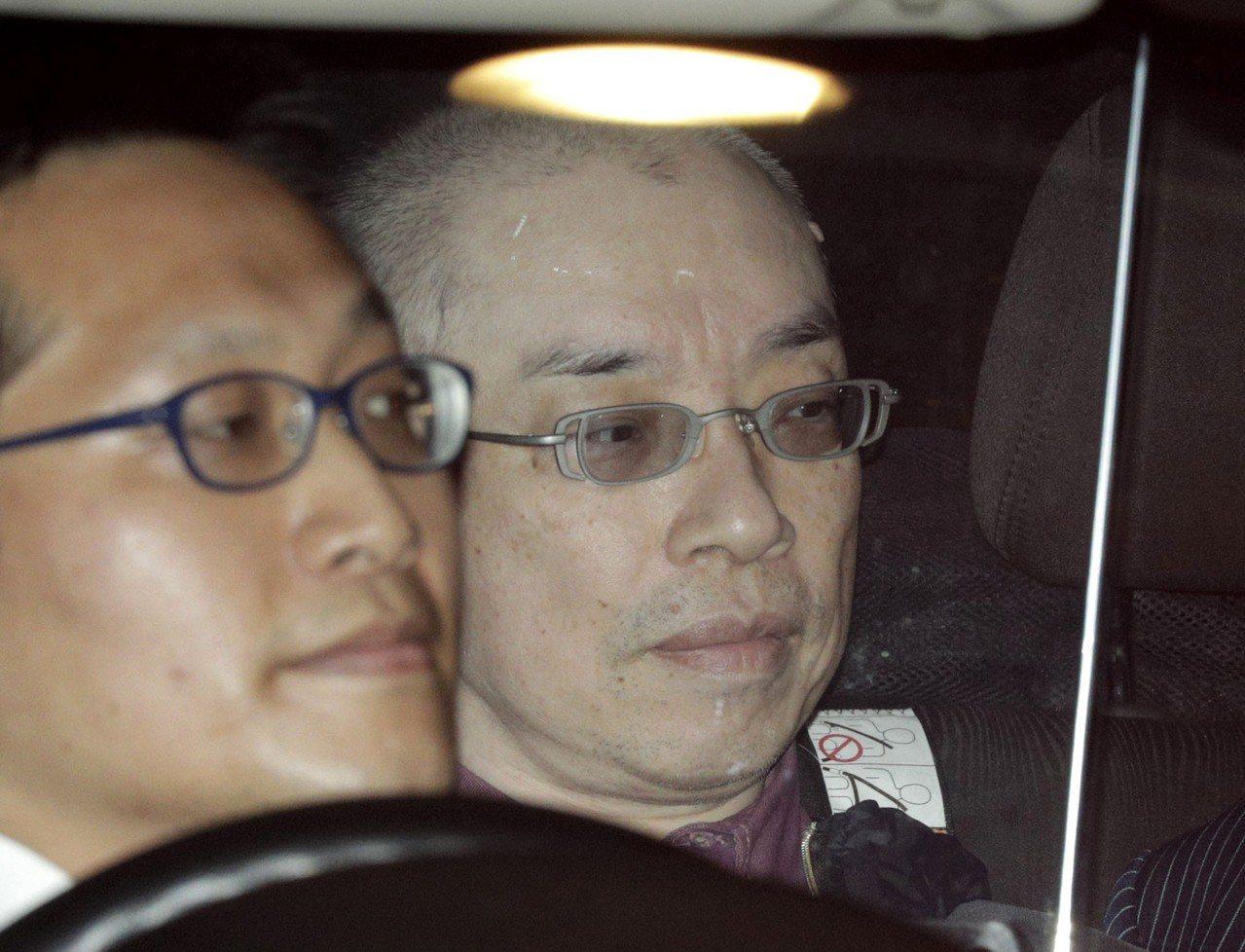 日本警方在神奈川縣平塚市逮捕56歲的嫌犯長谷川薰。圖/美聯社