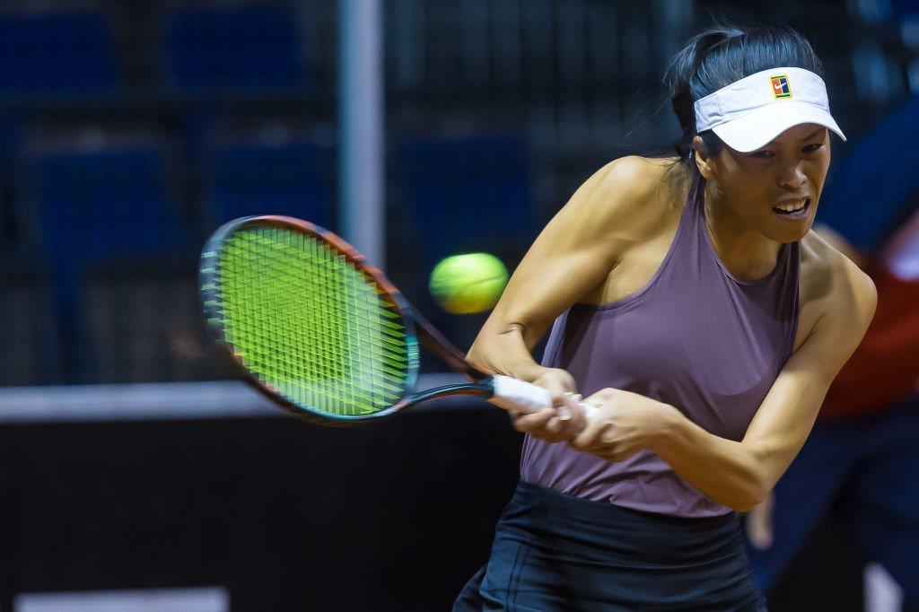 謝淑薇。 擷圖自WTA官網(資料照)