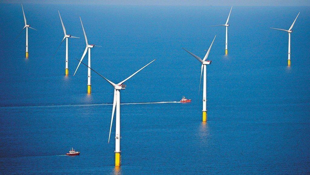 沃旭能源亞太區總裁暨台灣董事長柏森文表示,大彰化東南及西南第一階段風場計畫,是台...