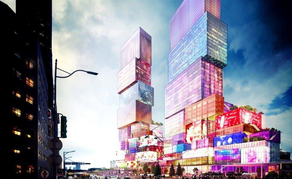 台北市雙子星開發案去年底由香港商南海控股與馬來西亞柏威年集團得標,但南海控股遭質...