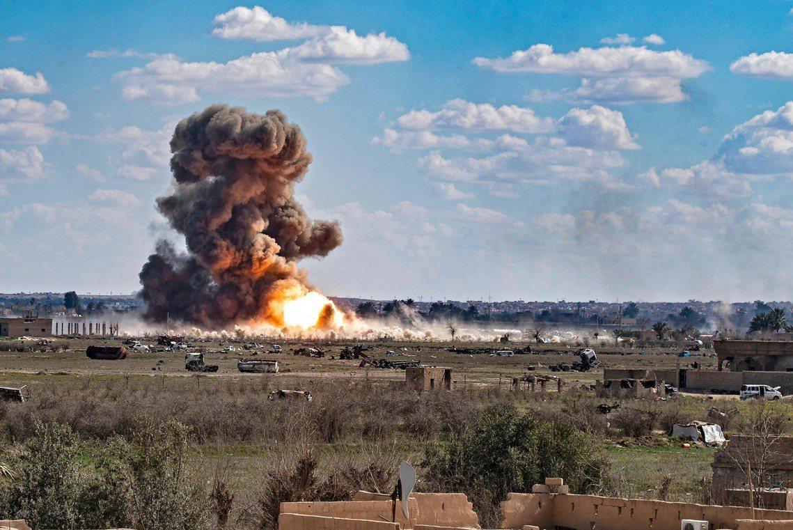 「巴古斯戰役已經結束了...但我們的聖戰才剛要開始!」巴格達迪表示,雖然在國際聯...
