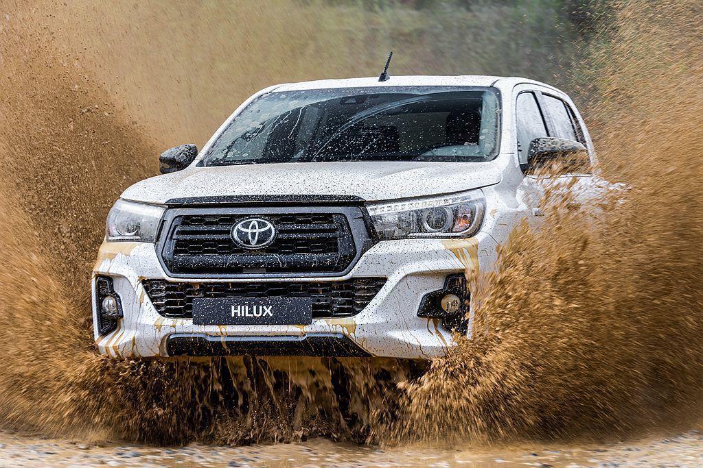 全球最熱賣的中型皮卡Toyota Hilux,日前在歐洲市場又推2019 Hil...