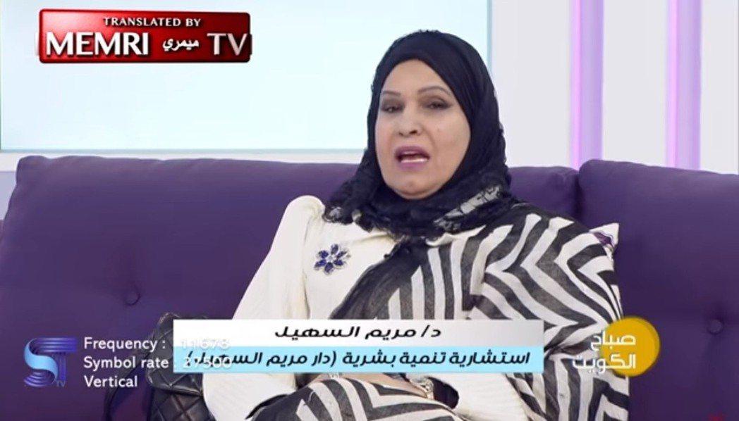 科威特女學者日前宣稱同性行為是受肛門蠕蟲影響,並在電視節目中發表一款能夠有效抑制...
