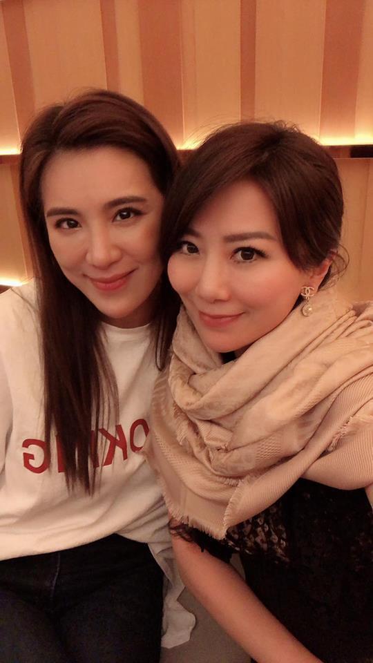 小禎和李佩甄是好姐妹,曾是奇摩熱搜榜上的人物。圖/小禎臉書