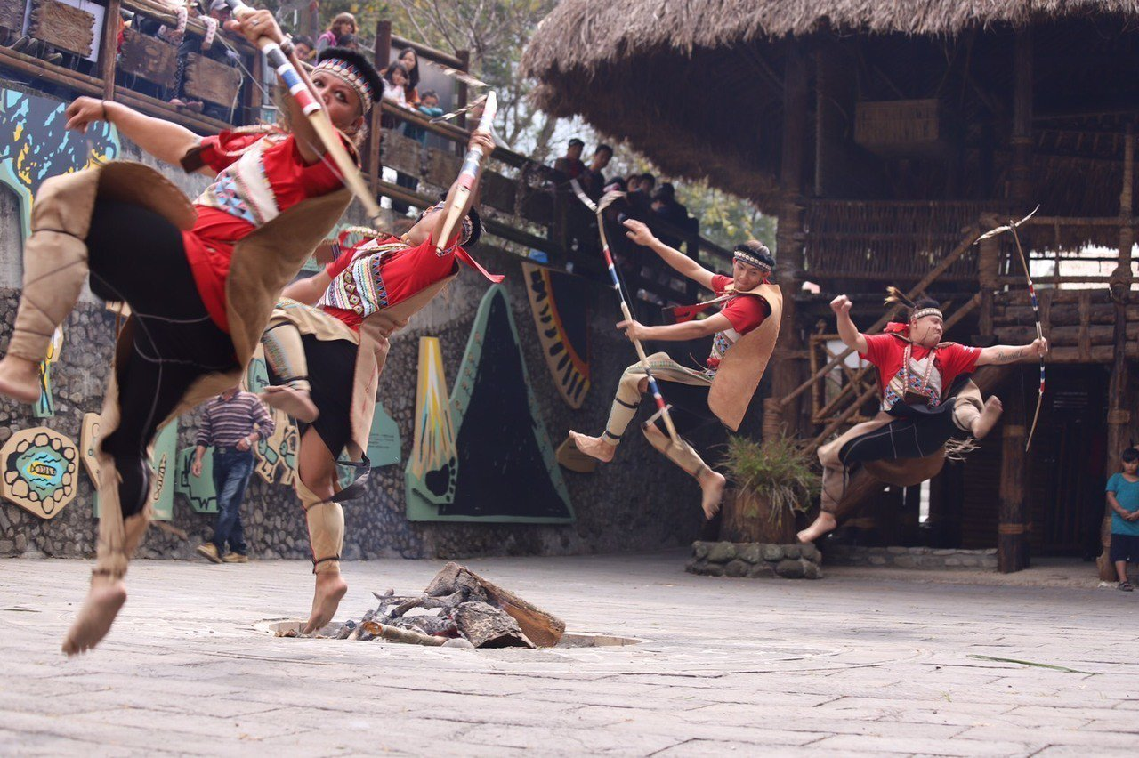 阿里山鄒族部落文化展演。圖/阿里山管理處提供