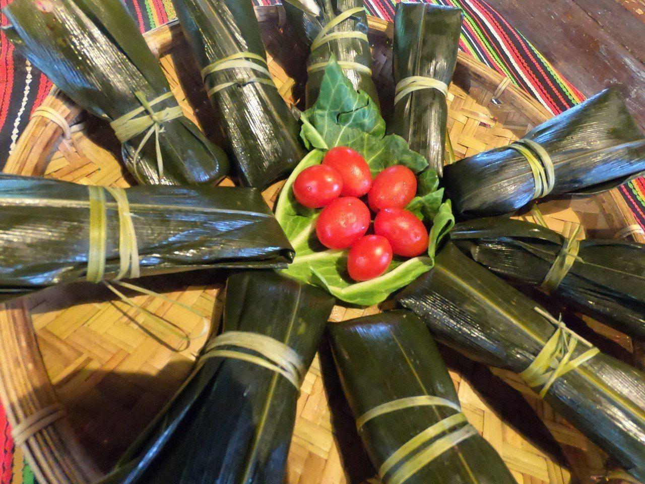 阿里山鄒族部落美食。圖/阿里山管理處提供