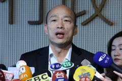 影/韓國瑜再重申一瓶礦泉水清廉選舉 絕對經得起考驗