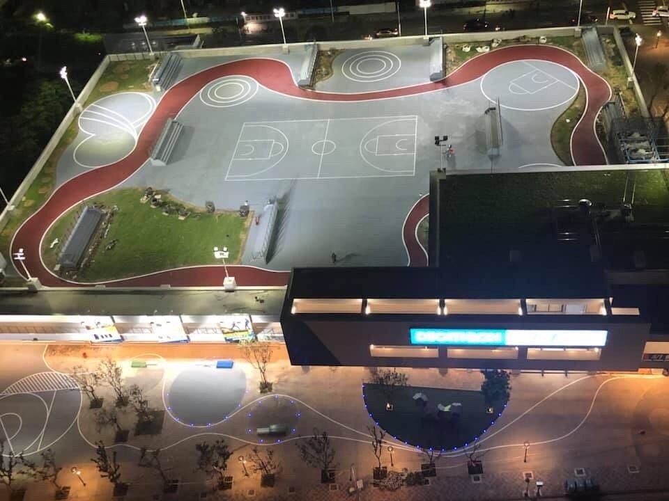 迪卡儂新竹店明天開幕,3樓擁有1800坪的運動空間。圖/迪卡儂新竹店提供
