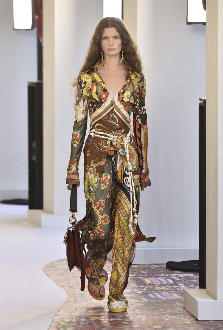 蔡依林選穿Chloé 2019春夏系列服裝。圖/Chloé提供
