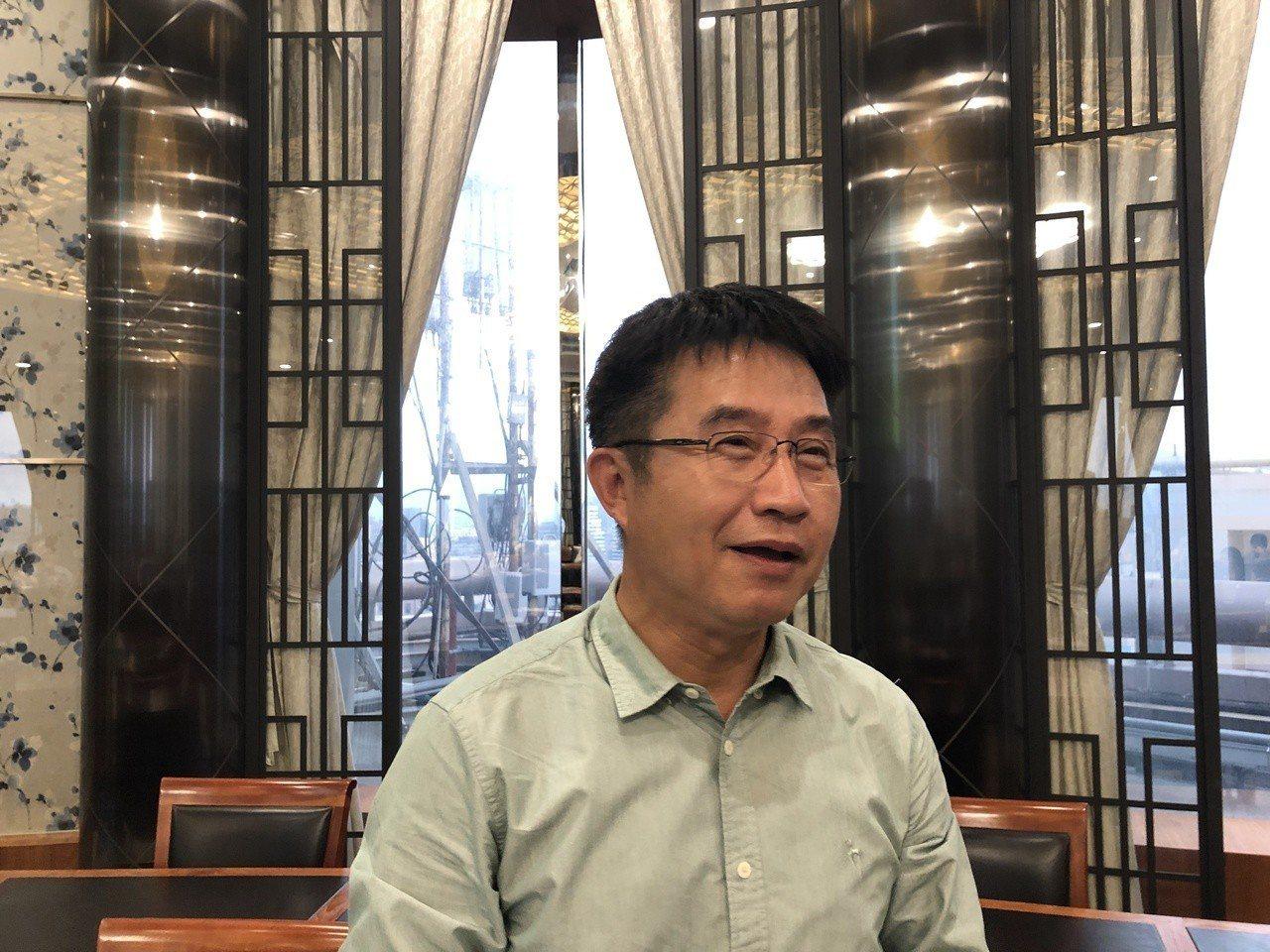 台虹總經理顏志明30日受邀出席法說會釋出營運展望。記者尹慧中/攝影